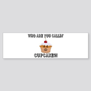 Don't Call Me Cupcake Sticker (Bumper)