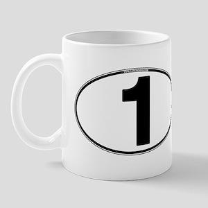 Number One Oval (1) Mug
