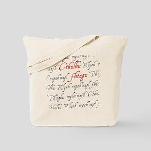 C'thulu Fhtagn Tote Bag