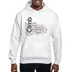 Climbing Words Hooded Sweatshirt