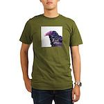 Look Alive.... Organic Men's T-Shirt (dark)