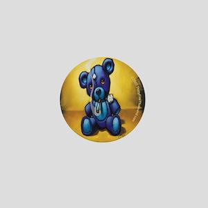 """""""Smokin' Bear"""" Mini Button"""