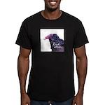 Look Alive.... Men's Fitted T-Shirt (dark)