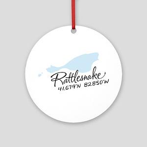 Rattlesnake Island Ornament (Round)