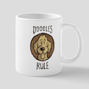Doodles Rule Mug