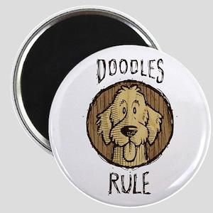 Doodles Rule Magnet