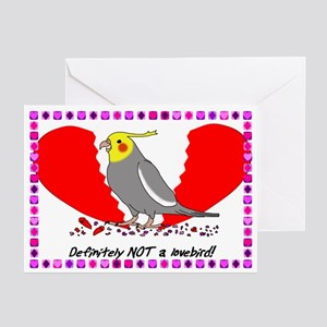 Cockatiel Anti Valentines (Pk of 10)