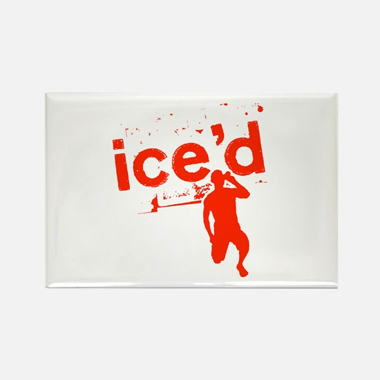 Ice'd Rectangle Magnet