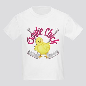 Goalie Chick Kids T-Shirt