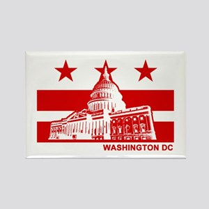 Washington DC Rectangle Magnet