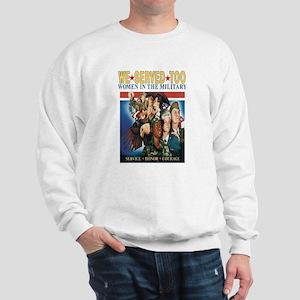 WOMEN SERVE TOO Sweatshirt