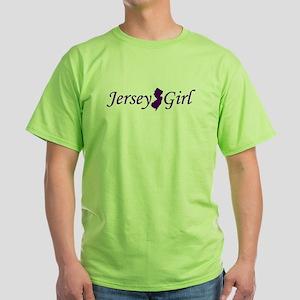 Jersey Girl Green T-Shirt