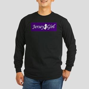 Jersey Girl Long Sleeve Dark T-Shirt