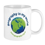 'Geography is my World' Mug