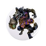 "Domesticated Werewolf 3.5"" Button"