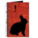 Evil Plot Bunny Blank Journal
