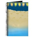 Beach Stroll Blank Journal