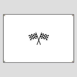 Racing flags Banner