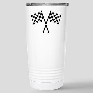 Racing flags Stainless Steel Travel Mug