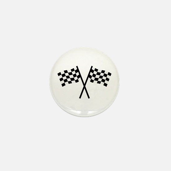 Racing flags Mini Button
