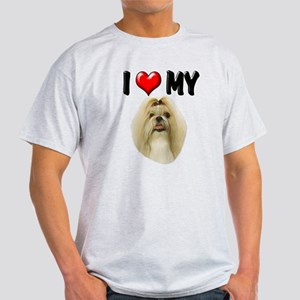 I Love My Shih Tzu Light T-Shirt