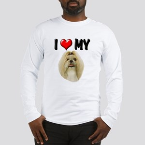 I Love My Shih Tzu Long Sleeve T-Shirt