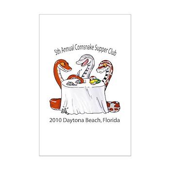 Cornsnake Supper Club 2010 Mini Poster Print