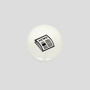 Newspaper Mini Button