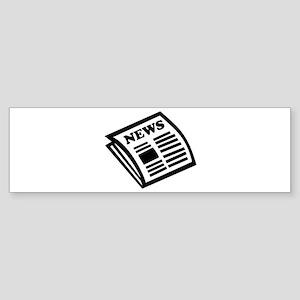 Newspaper Sticker (Bumper)