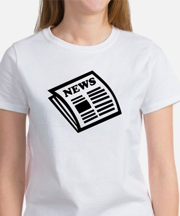 Newspaper Women's T-Shirt