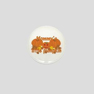 Mommy's Little Pumpkin Mini Button