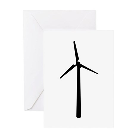 Wind wheel Greeting Card