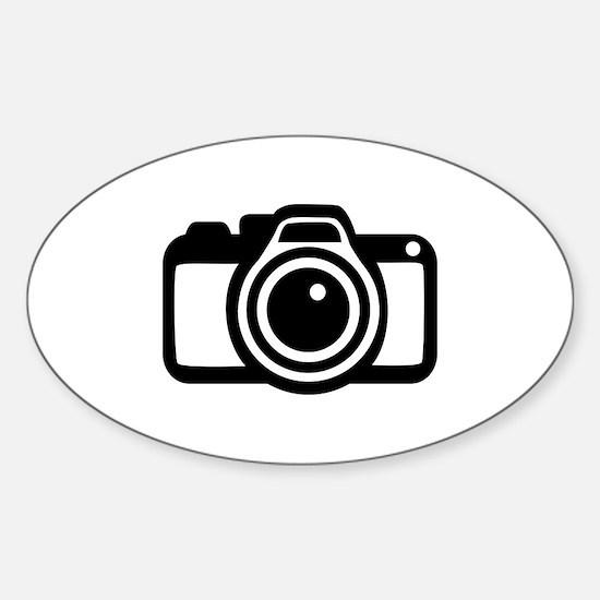 Camera Sticker (Oval)