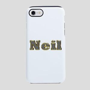 Neil Gold Diamond Bling iPhone 7 Tough Case