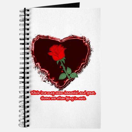Cute Bleeding hearts Journal