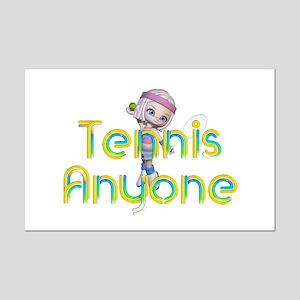 Tennis Anyone Mini Poster Print