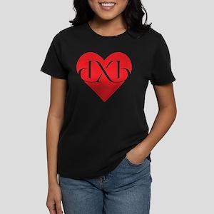 Heart Dubai Women's Dark T-Shirt