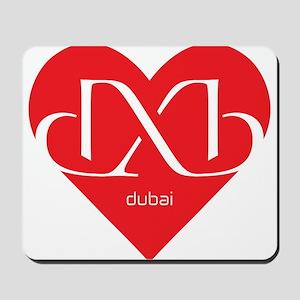 Heart Dubai Mousepad