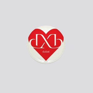 Heart Dubai Mini Button