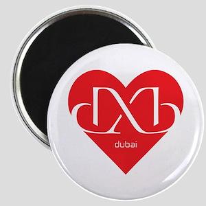 Heart Dubai Magnet