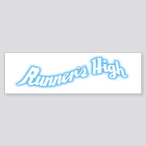Runner's High Sticker (Bumper)