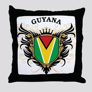 Guyana Throw Pillow