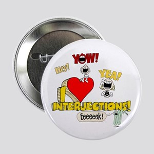 """I Heart Interjections 2.25"""" Button"""