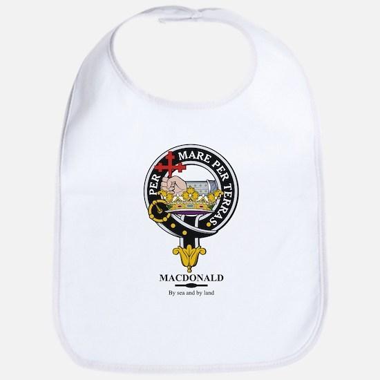 MacDonald Clan Badge Crest Bib