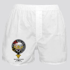 MacDonald Clan Badge Crest Boxer Shorts