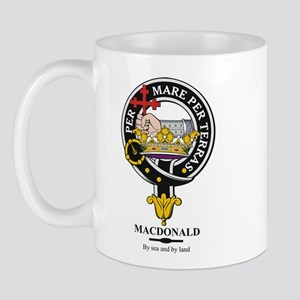 MacDonald Clan Badge Crest Mug