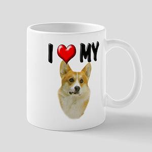 I Love My Corgi Mug