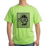 Martial Arts Logo Green T-Shirt
