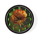 Columbia Lily Wall Clock