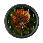 Columbia Lily Large Wall Clock